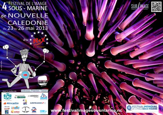 Affiche du festival de l'image sous-marine 2013