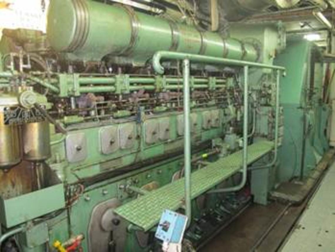 Un des 3 groupes diesel Duvant Crepelle