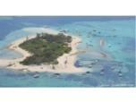 Survol hélicoptère des ilots du Grand Nouméa