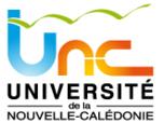Logo de l'Université de la Nouvelle-Calédonie